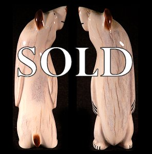 Zuni Spirits is proud to offer this authentic Zuni fetish carving direct from Zuni Pueblo, NM.  Click for more details!
