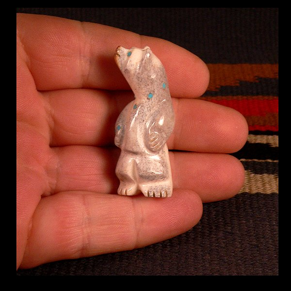 Zuni Spirits is proud to represent a variety of Zuni fetish Zuni fetish carvers, including Dwight Quam