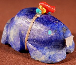 Burt Awelagte |    Price was:  $95.   | NOW ON SALE $65. | Afghan Lapis | Beaver |  CLICK IMAGE for more views & information.