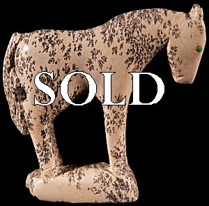 Hubert Pincion |  Price:  $75.    | Montana Talc |  Horse |  CLICK IMAGE for more views & information.