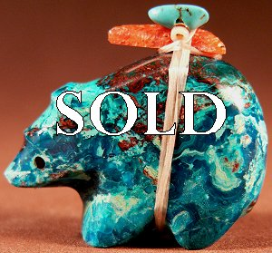 Emery Eriacho   | Price $60. | Copper Complex |  Bear |  CLICK IMAGE for more views & information.