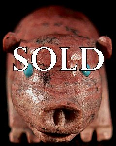 |  Price:  $45.    | Bernie Laselute | Serpentine Pig |  CLICK IMAGE for more views & information.
