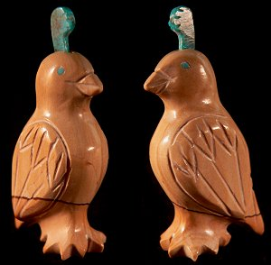 Fabian Tsethlikai   | Price $65. | Jasper| Quail |  CLICK IMAGE for more views & information.