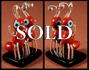 Danny Booqua   | Price $65. | Pipestone| Red ants  |  CLICK IMAGE for more views & information.