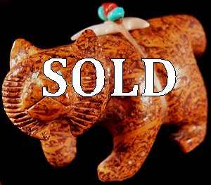 Brion Hattie   | Price was $235.  - Now $195. | Vietnamese Jasper |  Bobcat |  CLICK IMAGE for more views & information.