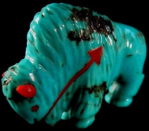 Andres Quandelacy | Turquoise | Buffalo | Price: $165. |  CLICK  IMAGE for more views & information.