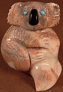 Hudson Sandy | Picasso marble | Koala Bear | Price: $375.  |CLICK  IMAGE for more views & information.