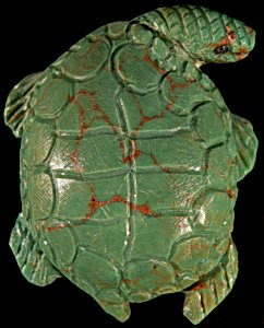 Lance Cheama | Variscite | Sea Turtle | Price: $195 |CLICK  IMAGE for more views & information.