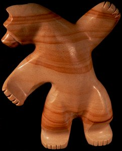 Ernie Mackel | Jasper | Dancing Bear | Price was $135.  - Now $80.|CLICK  IMAGE for more views & information.