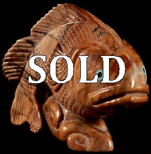 Hudson Sandy | Picasso marble | Fish | Price: $250. |CLICK  IMAGE for more views & information.