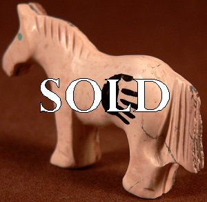 Carol Martinez | Horse | Chocolate serpentine | Price: $42. |CLICK  IMAGE for more views & information.
