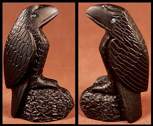 Michael Coble | Jet | Raven  | Price: $135.  | CLICK  IMAGE for more views & information.