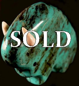 Lynn Quam | Turquoise  | Buffalo  | Price was $95.  - Now $65. | $8.50 domestic shipping  |  | CLICK  IMAGE for more views & information.
