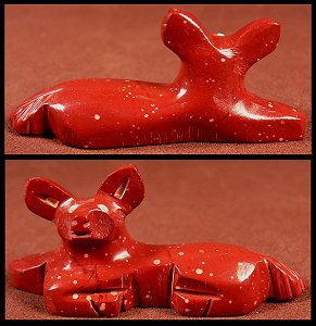 Fabian Tsethlikai  | Pipestone   | Fawn | Price: $45. +  $8.00 domestic shipping | CLICK  IMAGE for more views & information.