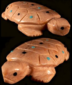 Alex Tsethlikai | Chocolate Serpentine | Turtle  | Price: $65.  | CLICK  IMAGE for more views & information.