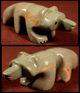 Ronnie Lunasee | Turquoise   | Badger  | Price: $75. +  $8.50  domestic shipping | CLICK  IMAGE for more views & information.