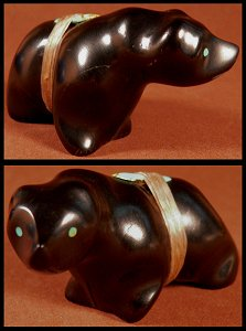Dion Terrazas | Jet | Walking Bear | Price: $95. |CLICK  IMAGE for more views & information.