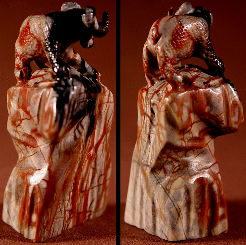 Zuni Spirits is proud to represent a variety of Zuni fetish carvers, including Wilfred Cheama!