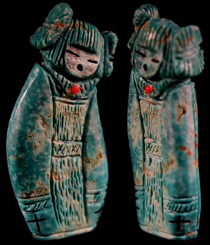 Zuni Spirits is proud to represent a variety of Zuni fetish carvers, including Faye Quandelacy!
