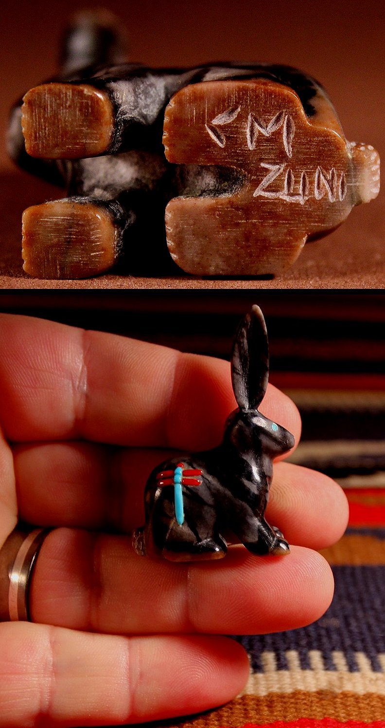 Zuni Spirits is proud to represent a variety of Zuni fetish carvers, including Clissa Martin!
