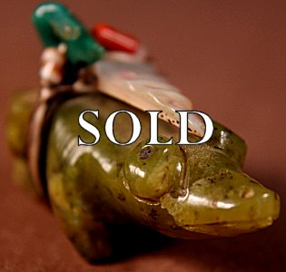 Rignie & Lena Boone | Serpentine   | Frog  | Price: $195. +  $10.00  domestic shipping | Texas sales tax applies to Texas Residents! | CLICK  IMAGE for more views & information. | Authentic Zuni fetishes direct from Zuni Pueblo to YOU from Zunispirits.com!