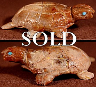 Lance Cheama  | Picasso Marble   | Turtle   | Price WAS: $125.  |  SALE PRICE:  $75.   +  $9.25  domestic shipping | Texas sales tax applies to Texas Residents! | CLICK  IMAGE for more views & information. | Authentic Zuni fetishes direct from Zuni Pueblo to YOU from Zunispirits.com!