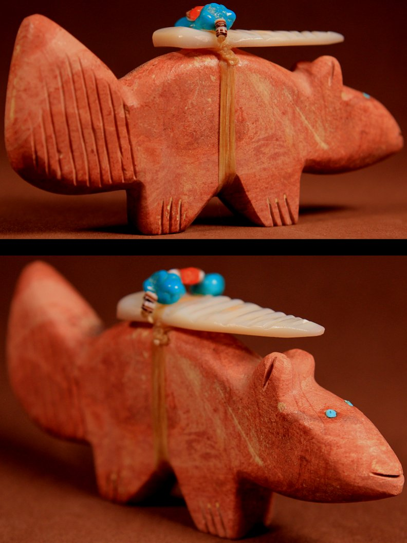 Zuni Spirits is proud to represent a variety of Zuni fetish carvers, including Edna Leki (d.)!