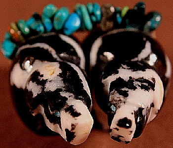 Ed Lementino   Zebrastone    Double Bears    Price: $54. +  $9.25  domestic shipping   Texas sales tax applies to Texas Residents!   CLICK  IMAGE for more views & information.   Authentic Zuni fetishes direct from Zuni Pueblo to YOU from Zunispirits.com!