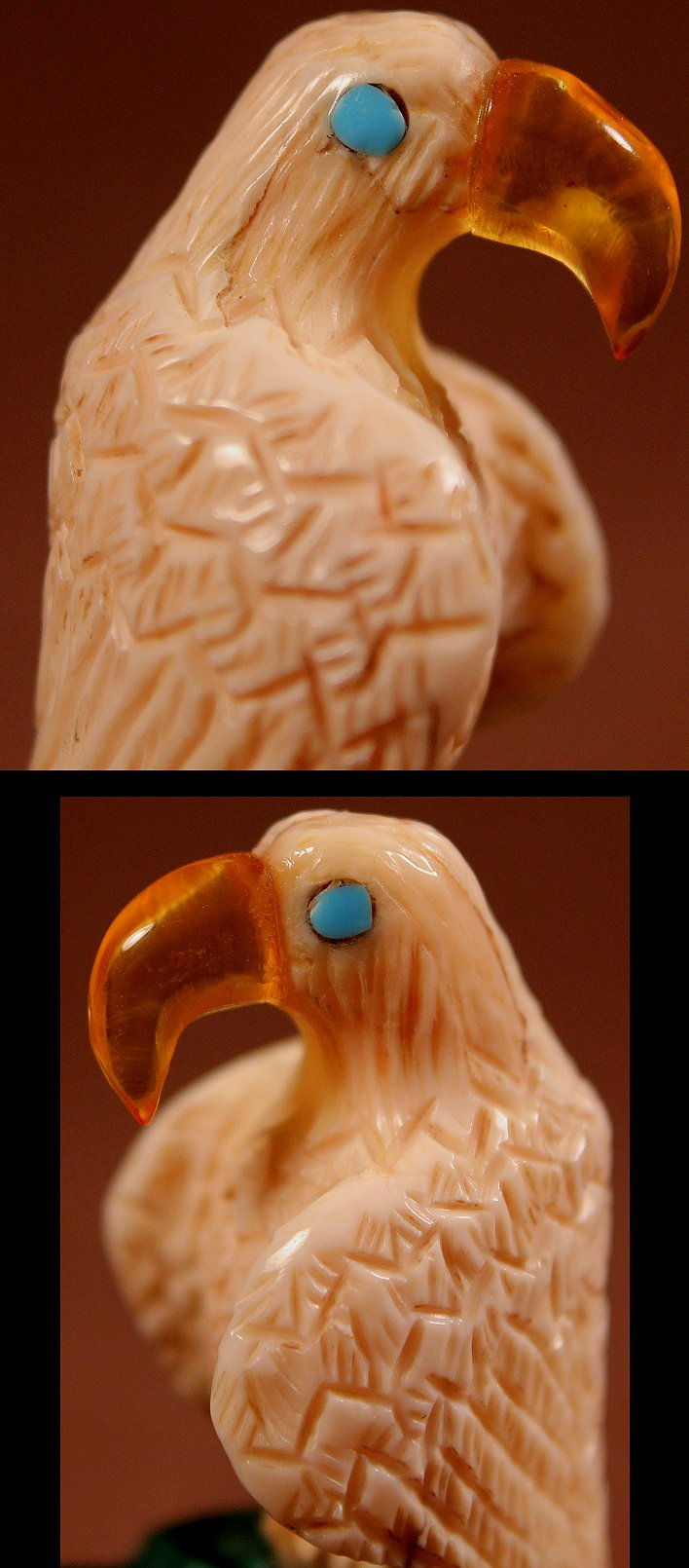 Zuni Spirits is proud to represent a variety of Zuni fetish carvers, including Burt Awelagte !