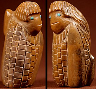 Zuni Spirits is proud to represent a variety of Zuni fetish carvers, including Hayes Leekya!