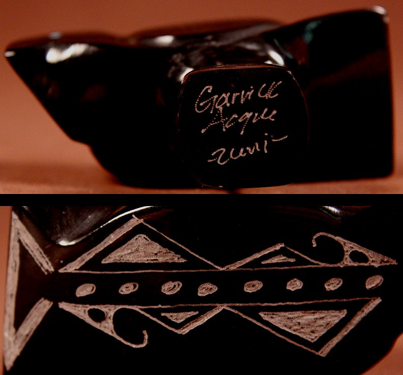 Zuni Spirits is proud to represent a variety of Zuni fetish carvers, including Garrick Acque!