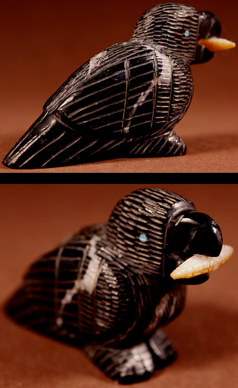Zuni Spirits is proud to represent a variety of Zuni fetish carvers, including Ernie Mackel!