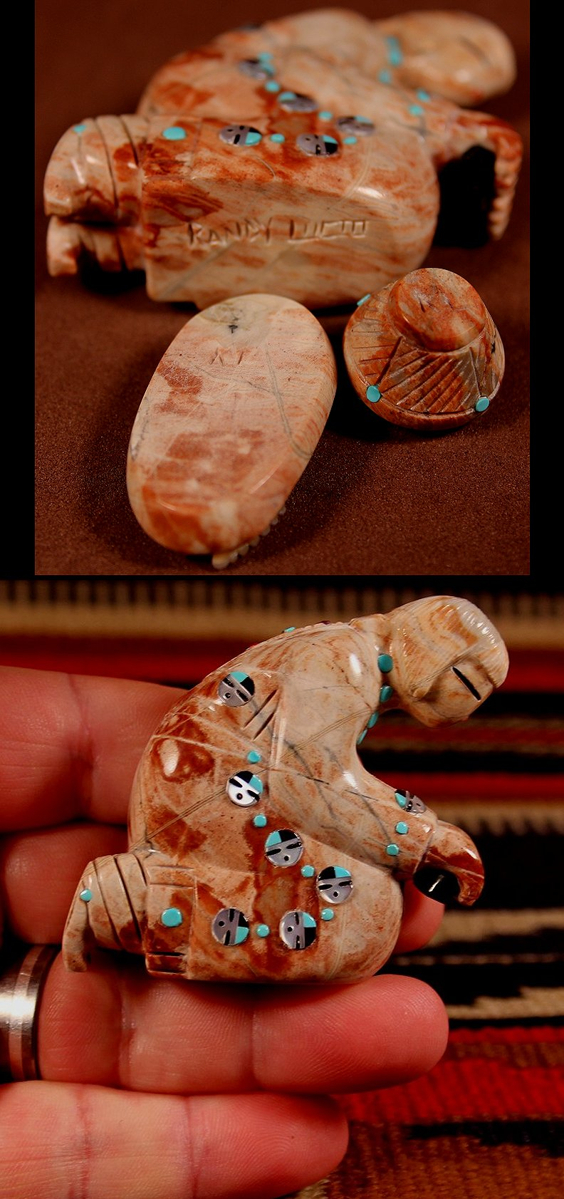 Zuni Spirits is proud to represent a variety of Zuni fetish carvers, including Randy Lucio!