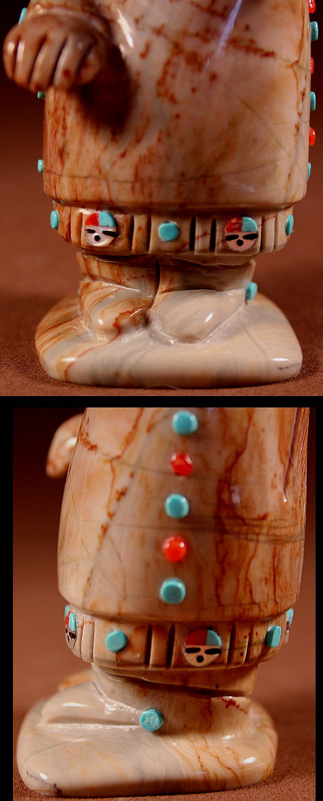 Randy Luciois just one of the talented artisans whose work you'll find often at Zuni Spirits!