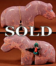Michael  Mahooty  | Colorado Lepidolite  | Horse  | Price WAS: $75.  |  SALE PRICE:  $54. +  $8.50  domestic shipping | Texas sales tax applies to Texas Residents! | CLICK  IMAGE for more views & information. | Authentic Zuni fetishes direct from Zuni Pueblo to YOU from Zunispirits.com!