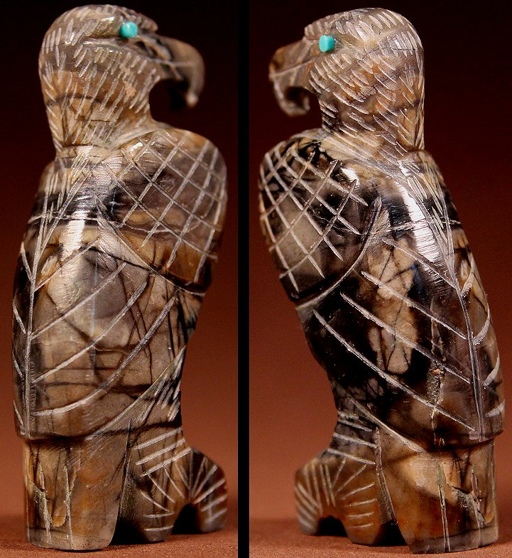 Zuni Spirits is proud to represent a variety of Zuni fetish carvers, including Fitz Kiyite!