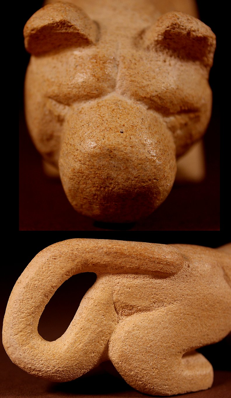 Zuni Spirits is proud to represent a variety of Zuni fetish carvers, including Brian Yatsattie !