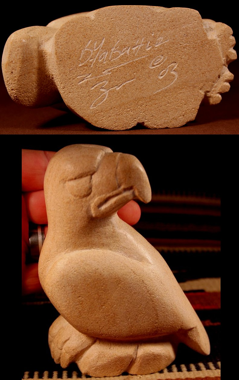 Zuni Spirits is proud to represent a variety of Zuni fetish carvers, including Brian Yatsattie!