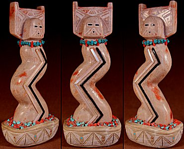 Zuni Spirits is proud to represent a variety of Zuni fetish carvers, including James Cheama!