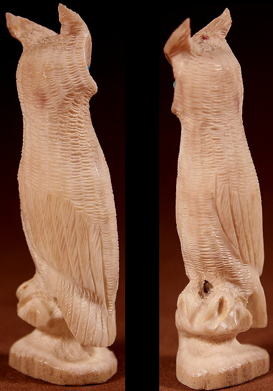 Zuni Spirits is proud to represent a variety of Zuni fetish carvers, including Willard Laate!