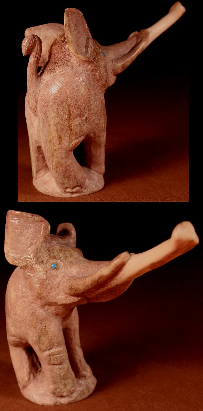 Zuni Spirits is proud to represent a variety of Zuni fetish carvers, including Maxx Laate!