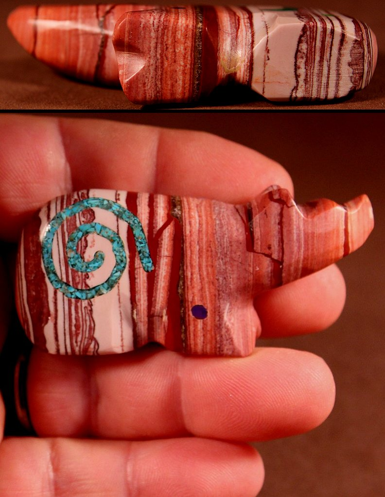 Jayne Quam is just one of the talented artisans whose work you'll find often at Zuni Spirits!