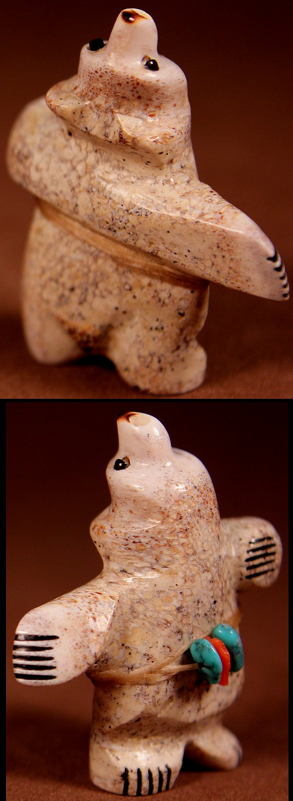 Zuni Spirits is proud to represent a variety of Zuni fetish carvers, including Claudia Peina !