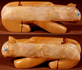 Zuni Spirits is proud to represent a variety of Zuni fetish carvers, including Vernon Lunasee & Prudencia Quam!