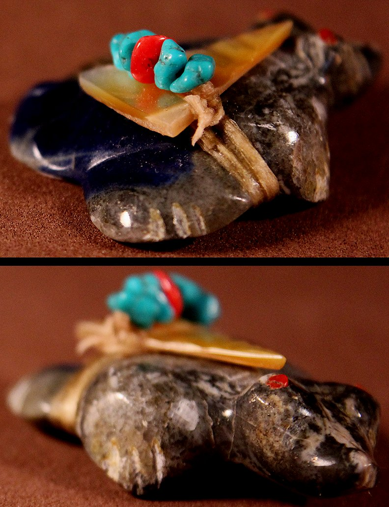 Zuni Spirits is proud to represent a variety of Zuni fetish carvers, including Lena Boone!