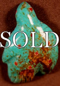 Lena Boone | Turquoise | Dove  | Price: $45. +  $8.50  domestic shipping | Texas sales tax applies to Texas Residents! | CLICK  IMAGE for more views & information. | Authentic Zuni fetishes direct from Zuni Pueblo to YOU from Zunispirits.com!