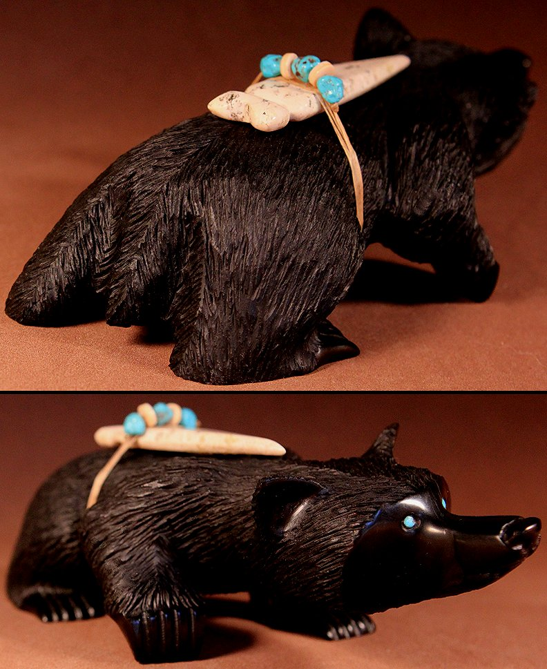Zuni Spirits is proud to represent a variety of Zuni fetish carvers, including Albert Eustace !