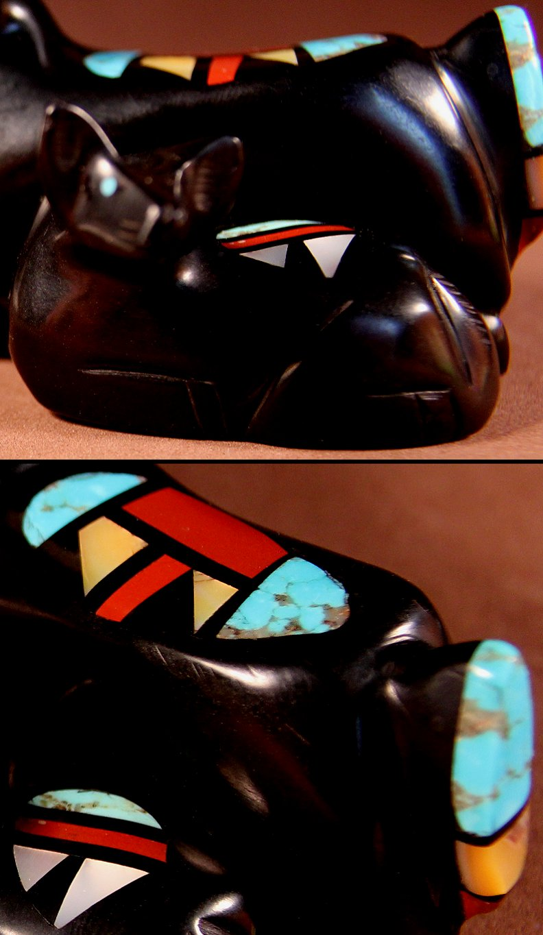 Zuni Spirits is proud to represent a variety of Zuni fetish carvers, including Stephen Natachu!