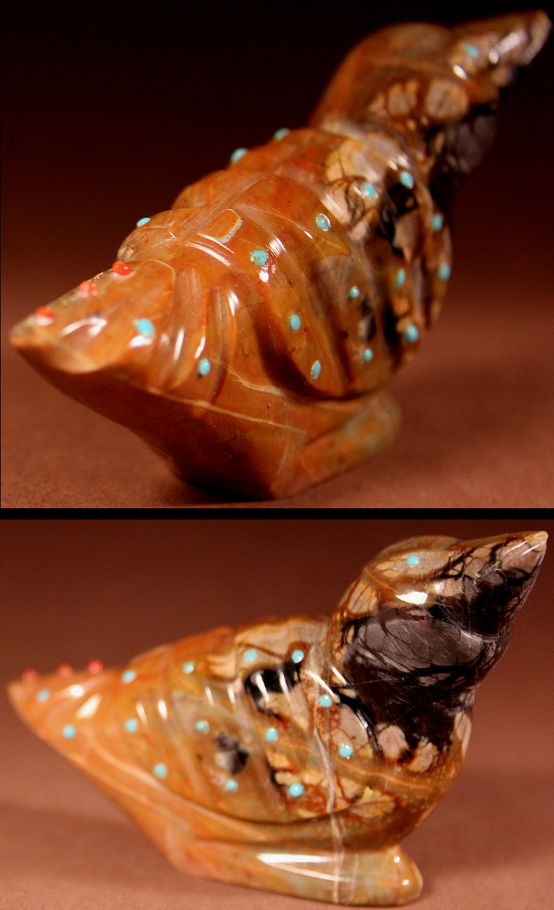 Zuni Spirits is proud to represent a variety of Zuni fetish carvers, including Delvin Leekya!