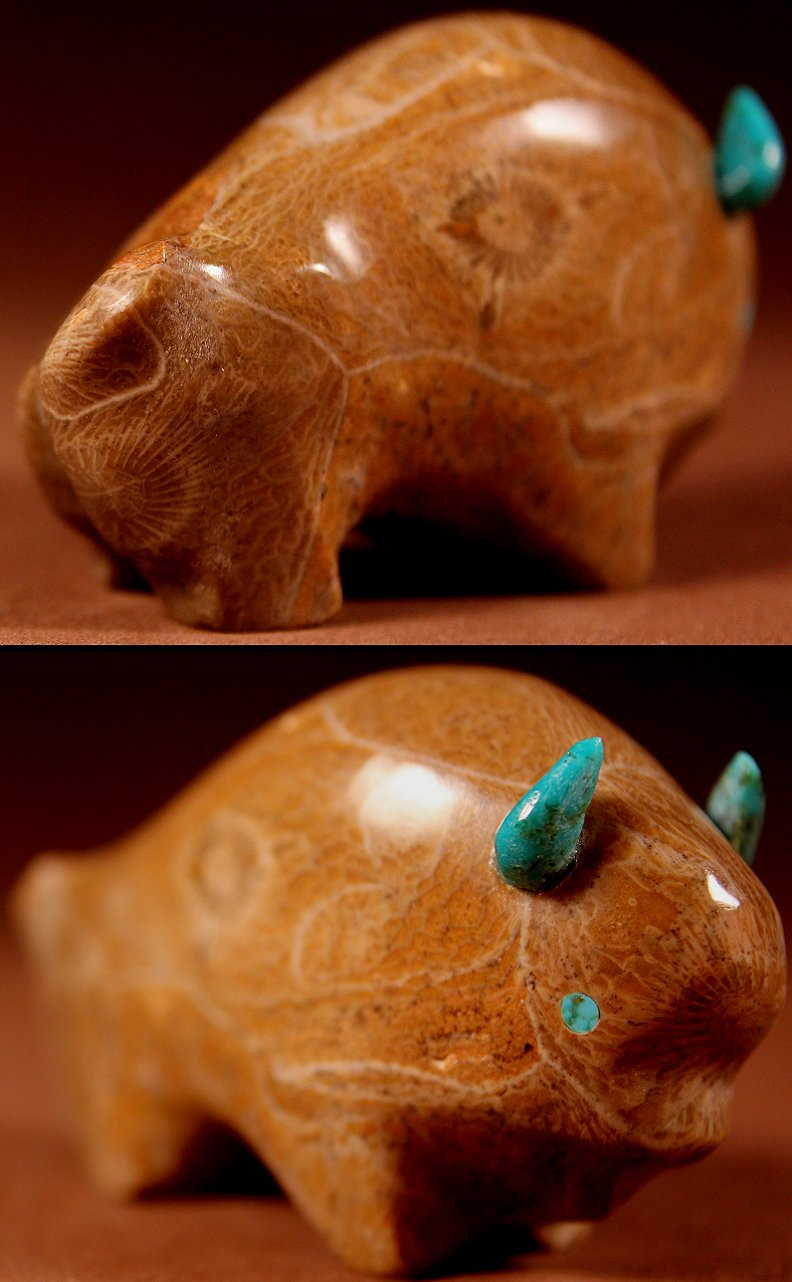 Zuni Spirits is proud to represent a variety of Zuni fetish carvers, including Lynn Quam!